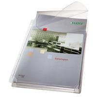 Leitz A4, 236 x 307 mm, PVC Chemise coin - Transparent