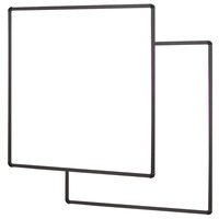 Conen Mounts Two whiteboard side wings, for mounting on the display Tableau blanc interactif