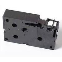 Brother 12 mm zwart op rood gelamineerde tape Labelprinter tape