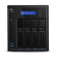 Western Digital My Cloud EX4100 Serveur de stockage de données - Noir