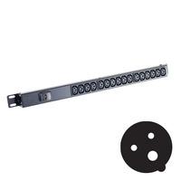 Black Box Standard C13 Power Strips Energiedistributie - Zwart