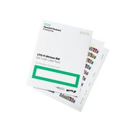Hewlett Packard Enterprise LTO-9 Ultrium RW Bar Code Label Pack étiquette de code à barres