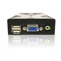 ADDER Link X200 USB VGA Audio Out KVM Two Port User Station Receiver Unit Inc SKEW Compensation