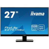 Iiyama ProLite 27'', Full HD, 1920 x 1080, 16:9, 300 cd/m², 1000:1, 1ms, HDMI x1, DisplayPort x1, USB x2, 19 .....