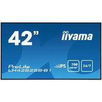 Iiyama LH4282SB-B1 - 24'' moniteur d'affichage dynamique Écrans professionnels - Noir