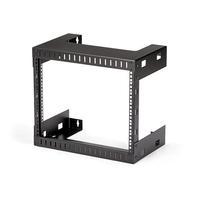 StarTech.com 8U Open Frame Rack Wandmontage 30cm Diep Stellingen/racks - Zwart