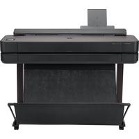 HP Designjet T650 Grootformaat printer - Zwart, Cyaan, Magenta, Geel