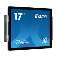 Iiyama ProLite 17'', 1280 x 1024, 350 cd/m², 5:4, 5ms, IP65 Moniteur à écran tactile - Noir