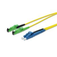 ASSMANN Electronic E2000-LC, 25m Câble de fibre optique - Jaune