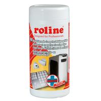 ROLINE Disinfectant Computer Cleaning Wipes (100 pcs.) Kit de nettoyage pour ordinateur