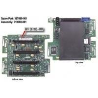 HP 4-Slot SCSI drive simplex backplane board Expansions à sous