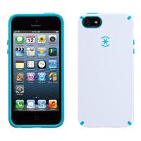 Speck iPhone 5 / 5S / SE CandyShell (White / Peacock Blue) Sac d'équipement