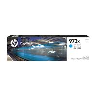 HP 973X originele cyaan high-capacity PageWide cartridge Inktcartridge