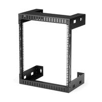 StarTech.com 12U wandmonteerbaar server rack open frame kast 30 cm diep Stellingen/racks - Zwart