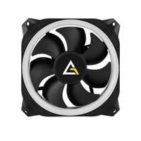Antec Prizm 120 ARGB 3+2+C Ventilateur - Black, Blanc