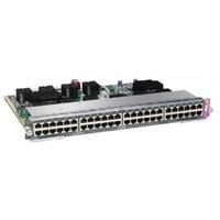 Cisco WS-X4748-RJ45V+E= Netwerkswitch module