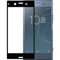 Azuri Tempered Glass for Sony Xperia XZ1 Schermbeschermer - Zwart, Transparant