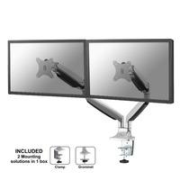 Neomounts by Newstar Select monitor bureausteun Monitorarm - Zilver
