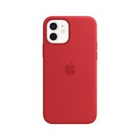 Apple Coque en silicone avec MagSafe pour iPhone 12 | 12 Pro - (PRODUCT)RED - Rouge
