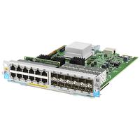 Hewlett Packard Enterprise HP 12-port 10/100/1000BASE-T PoE+ / 12-port 1GbE SFP MACsec v3 zl2 .....
