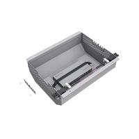 Kindermann Quickselect 3.0, metal, grey Protecteur de câbles - Gris
