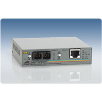 Allied Telesis 100TX to 100FX (SC) standalone media converter Netwerk media converters
