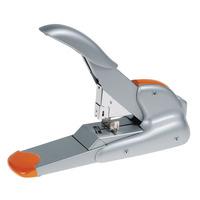 Rapid DUAX Nietmachine - Oranje, Zilver