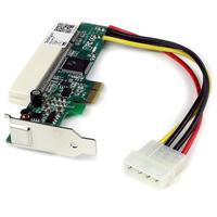 StarTech.com PCI Express naar PCI Adapterkaart Interfaceadapter - Rood
