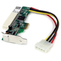 StarTech.com Carte Adaptateur PCI Express vers PCI - 1x PCI Express Mâle - 1x PCI Slot Femelle Adaptateur .....