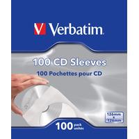 Verbatim CD-hoesjes (papier), 100 stuks