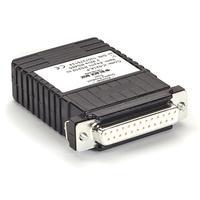Black Box Async RS-232 2-Wire RS-485 Interface Line Driver Videoconverter - Zwart