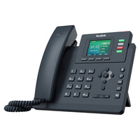 """Yealink 2.4"""" 320 x 240-pixel color display with backlight, 4 VoIP accounts, Dual-port Gigabit Ethernet, 1000 ....."""