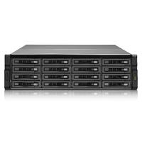 """QNAP 16x 3.5""""/2.5"""", SAS/SATA, HDD/SSD, 4x SAS 12Gbp/s, 3U, 650W, ATX Power Supply, 18.14kg Réseau de stockage SAN ....."""