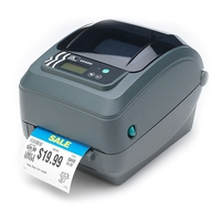 Zebra GX420t Imprimante d'étiquette - Gris