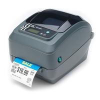Zebra GX420t Labelprinter - Grijs