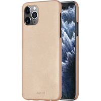 Azuri metallic cover soft touch coating - goud - iPhone 11 Pro Max