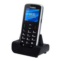 Fysic FM-7950 GPS Big Button Comfort GSM incl. Cradle Black Diverse hardware