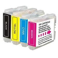 Brother LC-121VALBP Value Blister (1 x BKCMY) Inktcartridge - Black, Cyaan, Magenta, Geel