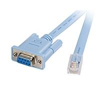 Cisco RJ45-DB9 Câble de réseau - Gris