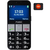 Fysic FM-7810 Big Big Button Comfort GSM Black Diverse hardware