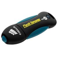 Corsair 64GB Voyager V2 USB-stick - Zwart, Blauw
