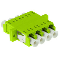 ACT LC-LC, 0.1 dB, Lime green Glasvezel-adapters - Groen, Limoen