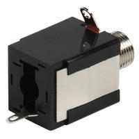Valueline Jack Mono Female 6.35mm, Black Connecteur de câble - Noir