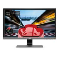 Benq EL2870U Monitor - Zwart,Grijs
