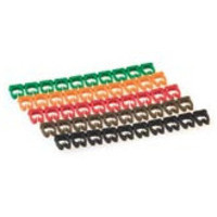 Microconnect Set of 10x10 cablemarkers Kabelklem