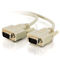 C2G 3m HD15 M/M SVGA Cable - Gris