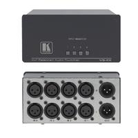 Kramer Electronics 4x1 Balanced Stereo Audio Mechanical Switcher Commutateur audio
