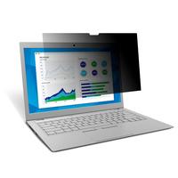 """3M Filtre de confidentialité tactile pour ordinateur portable à écran panoramique 15,6"""" - Ajustement standard ....."""