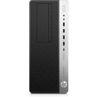 HP EliteDesk 800 G5 i5 8GB RAM 256GB SSD Pc - Zwart