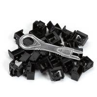 Black Box LockPORT™ Secure RJ45 Port Locks Patch panel accessoire - Zwart